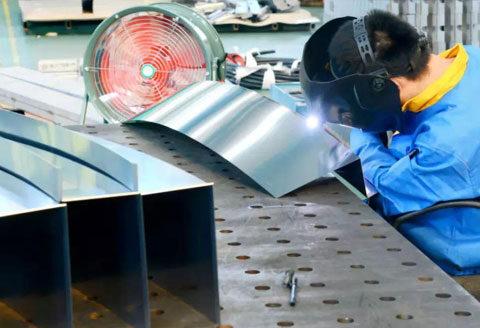 Sheet Metal Welding Team