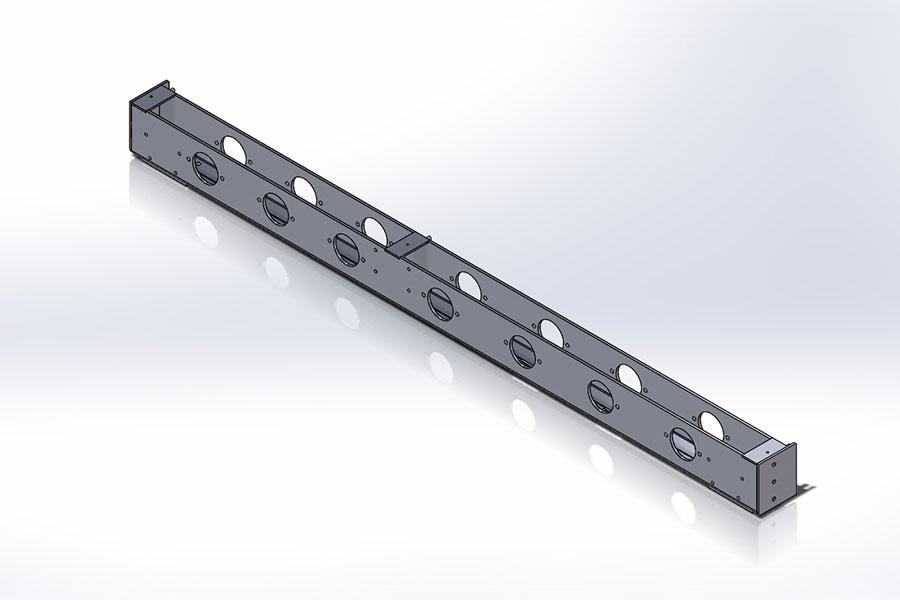 Stainless Steel 316 Roller Tube
